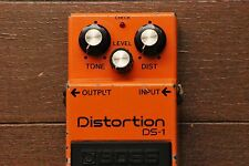 Boss DS-1 Distortion Vintage Guitar Effect Pedal JAPAN Worldwide Shipping