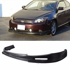 Fit 04-10 SCION TC Front Bumper Lip PU Material MUGEN Style
