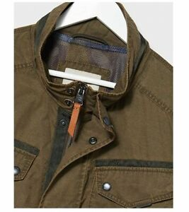 Camel Active size GB42/L men's brown casual jacket 199.95 tag € NEW & measured