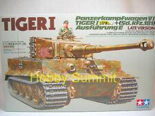 Tamiya 1/35 German TIGER 1  Late Version  WWII Tank Model Kit  35146
