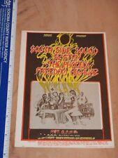 1967 South Side Sound System Family Dog Postcard Handbill Fd-80, Greg Irons Art