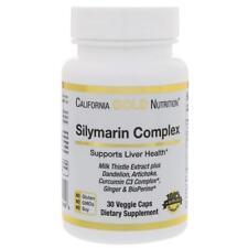 Silymarin, Milk Thistle Extract Complex, 300 mg, 30 Veggie Caps, California Gold