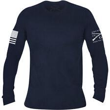Grunt Style Basic Long Sleeve T-Shirt - Navy
