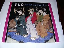 "TLC (Waterfalls) 12"" 33rpm 6-song PROMOTIONAL LP  Lisa""Left Eye""Lopes  NM-"