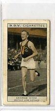 (Gs545-JB) Phillips BDV, Whos Who in Aust Sport, Hyde / Metcalfe 1933 G-VG