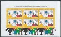 BRD Block 21** 10. Int. Briefmarkenausstellung (Michel EURO 22,00) pracht