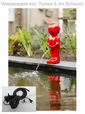 Pond Pump Gargoyle Garden Pond Fountain Garden Figure Decoration NEW