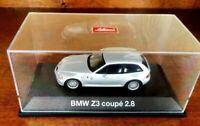 SCHUCO BMW Z3 COUPE RARE SILVER COLOR IN 1/43 SCALE 1/43 no/ BBR BANG
