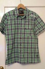 G-Star Raw Rektor Green Check Shirt L RRP£70 BNWOT