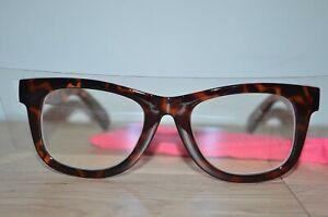 Betsey Johnson Designer Blue Light Blocking Reading Glasses TORTOISE Brown