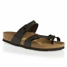 Birkenstock Mayari Synthetic Patent Black Womens Sandals
