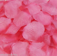 Silk Rose Petals Wedding Flower Bridal Decoration Party 40 Color Choose Quantity