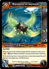 WOW WARCRAFT TCG BETRAYAL OF THE GUARDIAN : WARGLAIVE OF AZZINOTH X 4