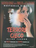 Terrore cieco. Blind Terror (2001) DVD Come Nuovo Sigillato