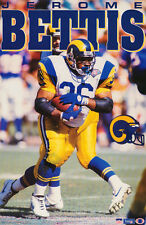 POSTER: NFL FOOTBALL:  JEROME BETTIS - ST. LOUIS RAMS RUNNING BACK -  RW1 E
