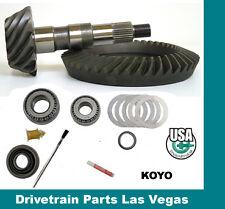 "USA Standard GM 10.5"" 14 Bolt 4.11 Ratio Ring and Pinion Gear Set Install Kit PK"