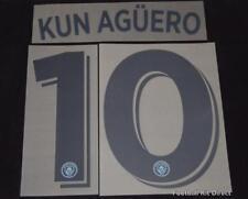 Manchester City Kun Aguero Football Shirt Name/Number Champions League 2016/17