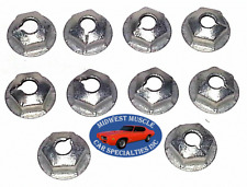 Ford Lincoln Mercury #10-32 Fender Quarter Trunk Trim Clip Molding Nuts 10pcs P