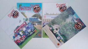 Enjoying MG – MG Owners Club Magazine 1994, Vol. 14, 4 issues