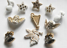 Angels Song  Holiday Buttons Buttons Galore / Cherb Angels Harp Notes