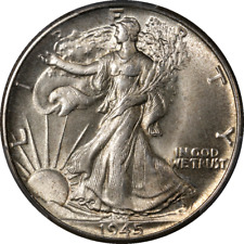 1945-P Walking Liberty Half PCGS MS65 Nice Eye Appeal Nice Luster Nice Strike