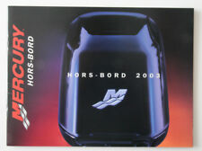 MERCURY Outboards 2003 dealer brochure - French - Canada - ST2003000418