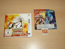 Pokemon Sonne Edition (Nintendo 3DS)