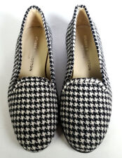 NWOB $450 STUBBS & WOOTTON 6.5 Houndstooth Wool & Leather Loafers *EXCELLENT*
