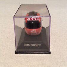 New listing Gilles Villeneuve F1 Ferrari Formula 1 One Miniature Racing Helmet in Case