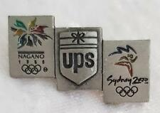 NAGANO UPS SYDNEY 2000 OLYMPIC GAMES PIN - MAYBE PEWTER