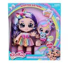 Kindi Kids Scented Sisters 2 Dolls Rainbow Kate and Cutie Cake - New 2021