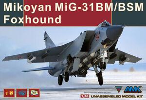 AMK 1/48 88003 Mikoyan MIG-31 BM/BSM Foxhound