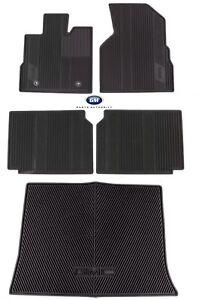 2010-2017 GMC Terrain Premium All Weather Floor Mat Package Black Genuine OEM GM