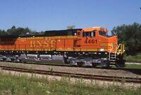 BNSF Railroad Locomotive 4461 CORRY PA Original 1999 Photo Slide
