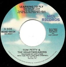 """Tom Petty """"Learning To Fly"""" 7"""" 45Rpm vinyl single Mca 1991 Rock"""