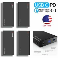 4x Power Bank RAVPower 20000mAh PD Portable Phone Charger Fast MacBook AC/CC IF