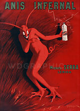 Anis Infernal, 1905 by Leonetto Cappiello VintageLiquor Canvas Print 20x28