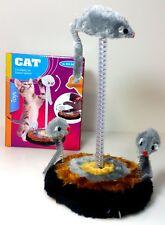 Katzenspielset mit 3 Mäusen Spielset Katzenspiezeug Katze Spiezeug ca. 26x14,5cm
