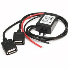 Auto 12V-5V Inverter 2 USB Buchse Hartdraht Power Charger für Tablette Telefon