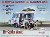 Die Station Agent (Zweiseitig) Original Filmposter