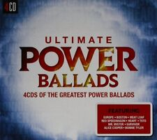 ULTIMATE...POWER BALLADS  4 CD NEW
