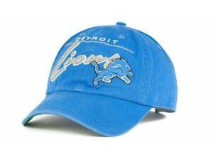 New Licensed NFL Detroit Lions '47 Brand Adjustable Hat   Golf Workout  B128
