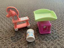 Mattel Barbie Nursery Items Horse Scale Baby Wipes 3 Pc Lot
