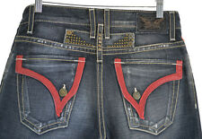NWOT Men's Robin's Jean Leather Trim Pocket Size 30/34