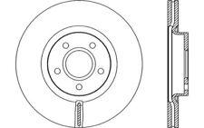 2x OPEN PARTS Discos de freno delanteros Ventilado Para VOLVO V50 BDA2153.20