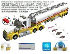 Lego Truck Industrial Octan Shell Petrol Tanker Vehicle Rig Design City Town