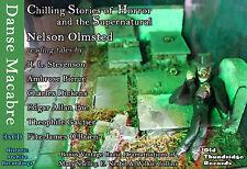 Danse Macabre Ghost Horror Stories 3xCD Charles Dickens Poe E. Nesbit Audio Book