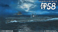 Aoshima Models 1/350 Imperial Japanese Navy (IJN) Submarine I-58
