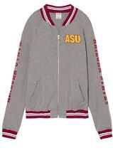 Victoria's Secret PINK Collegiate Collection Arizona State U Bomber Jacket NWT L