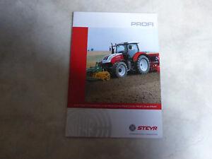 2759 STEYR Traktoren Baureihen Prospekt von 04//2011